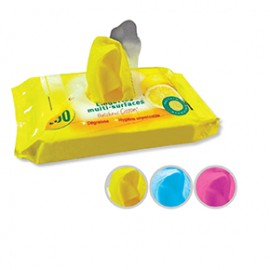 Color cloth wipes