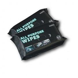 Bagged car wipes